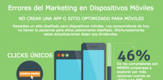 Errores del Marketing en Dispositivos Móviles