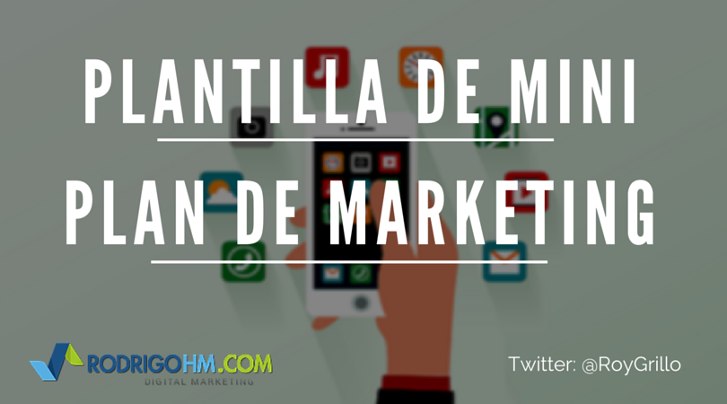 Plantilla Plan de Marketing