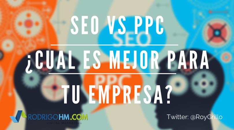 SEM Marketing - SEO vs PPC