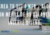 Crea tu Sitio Web / Blog con menos de 99 Dolares - Incluye Diseño.