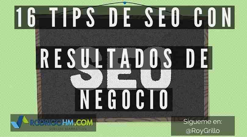 Tips de SEO