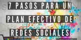 Plan de Redes Sociales en tan solo 7 pasos