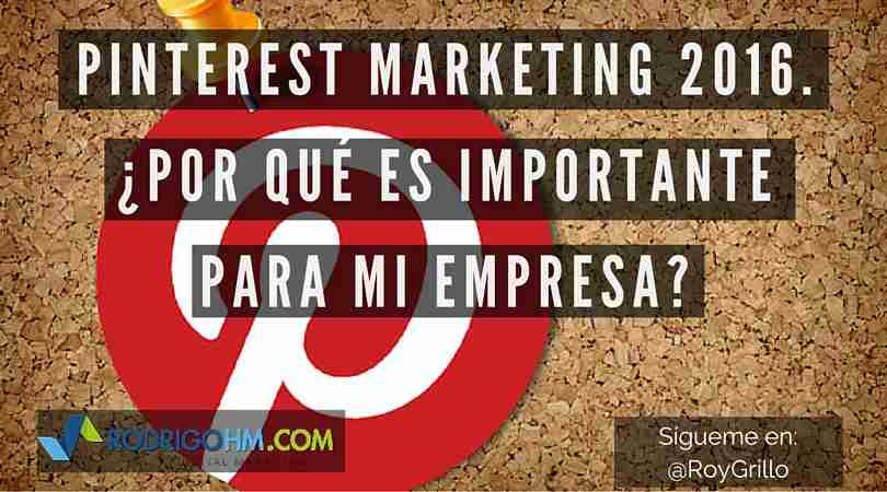 Pinterest Marketing 2016