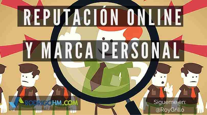 Reputación Online y Marca Personal