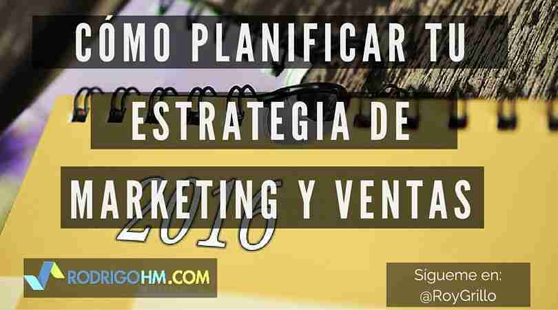 Planificar tu Estrategia de Marketing
