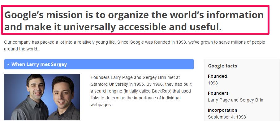 Misión Google