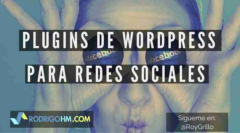 Plugins de WordPress para Redes Sociales