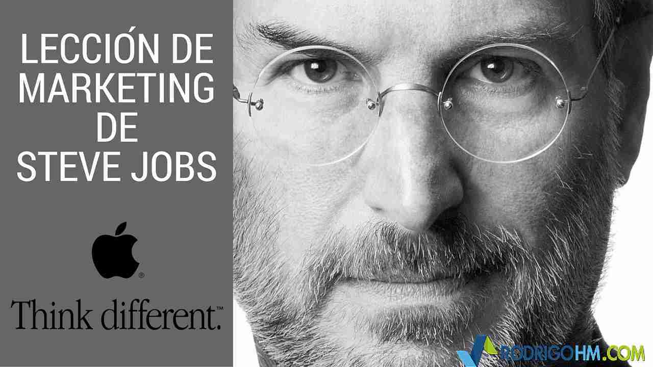 Lección de Marketing de Steve Jobs
