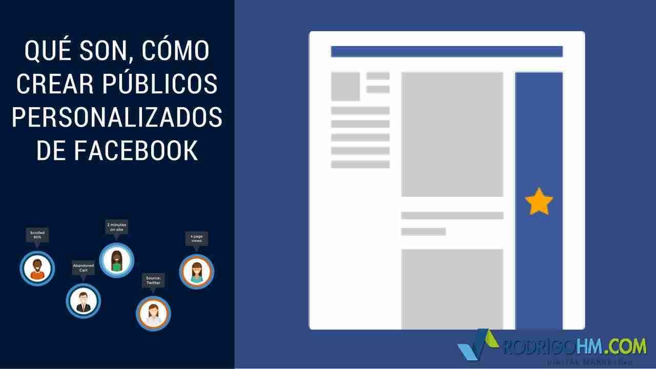 Qué Son, Cómo Crear Públicos Personalizados de Facebook