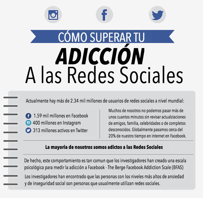 Cómo Superar Una Adicción a las Redes Sociales