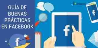 Guía de Buenas prácticas en Facebook