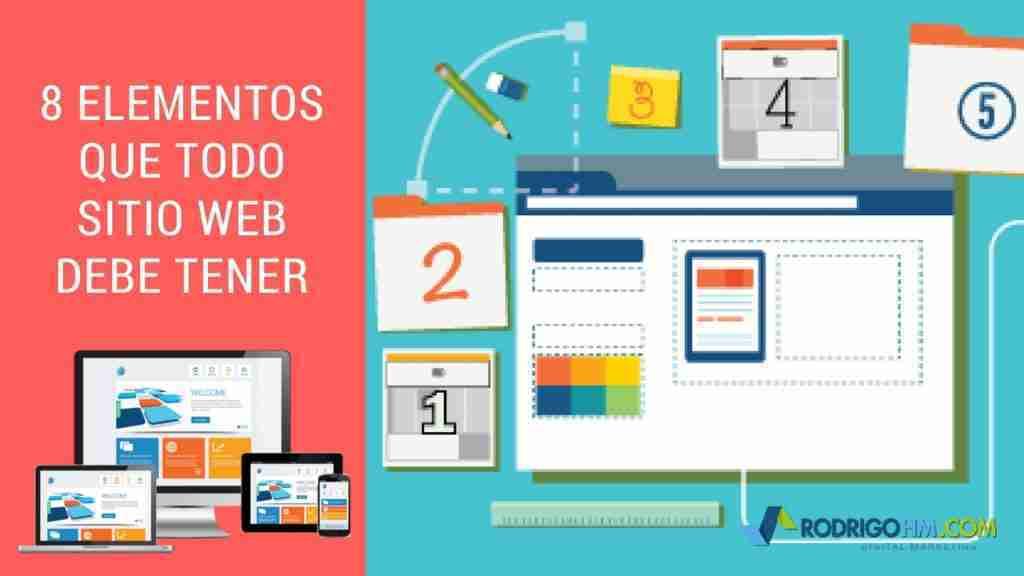 8 Elementos Que Todo Sitio Web Debe Tener