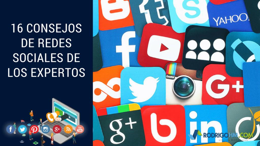 16 Consejos de Redes Sociales de los Expertos