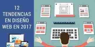 12 Tendencias en Diseño Web en 2017
