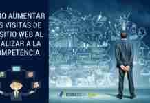 Cómo Aumentar Las Visitas De Tu Sitio Web al Analizar a la Competencia