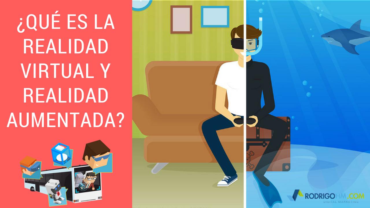 Que es la Realidad Virtual y Realidad Aumentada