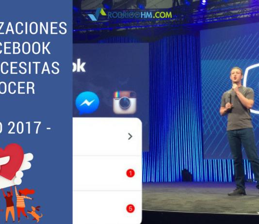 Actualizaciones en Facebook