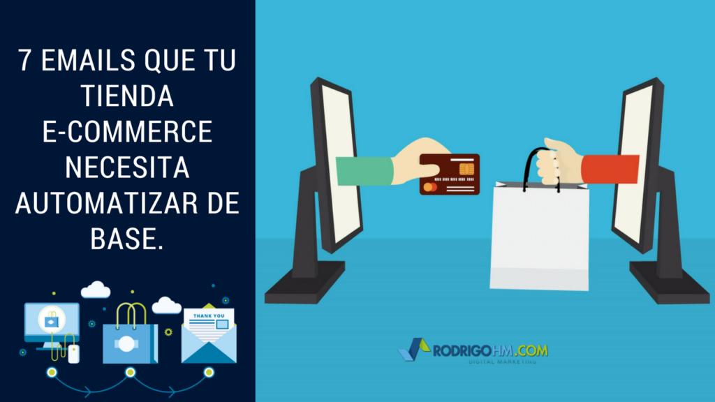 Correos Electronicos para Ecommerce / Email Marketing