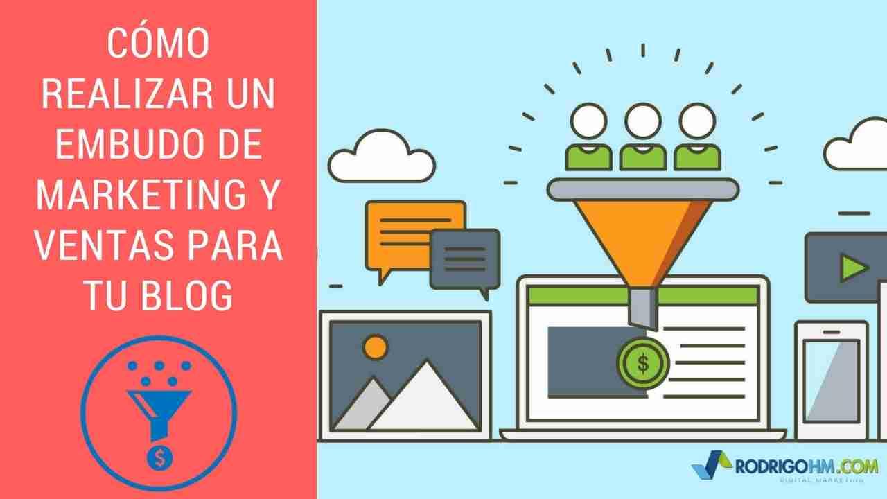 Cómo Realizar un Embudo de Marketing y Ventas para tu Blog