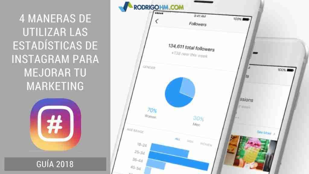 4 Maneras de Utilizar las Estadísticas de Instagram Para Mejorar Tu Marketing