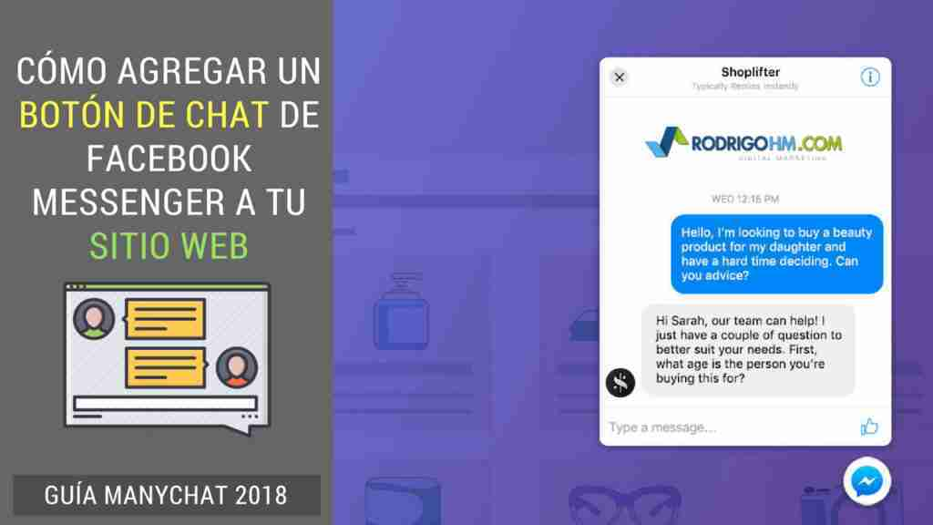 chat web de