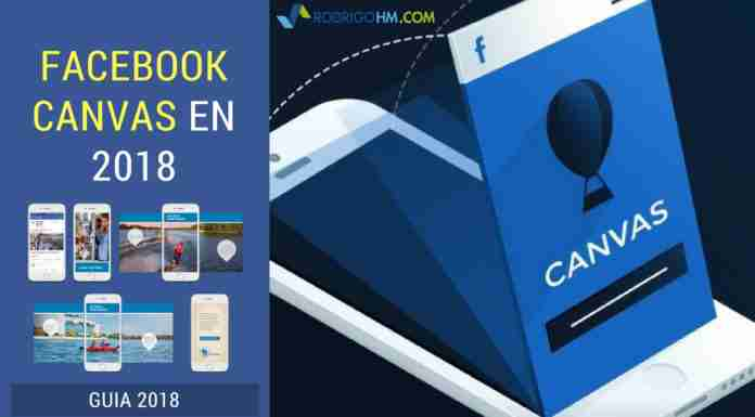 Facebook Canvas en 2018