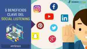 5 Beneficios Clave del Social Listening