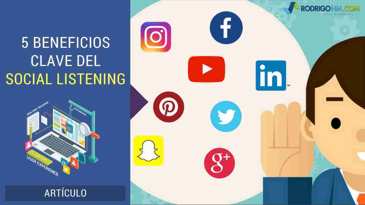5 Beneficios Clave del Social Listening